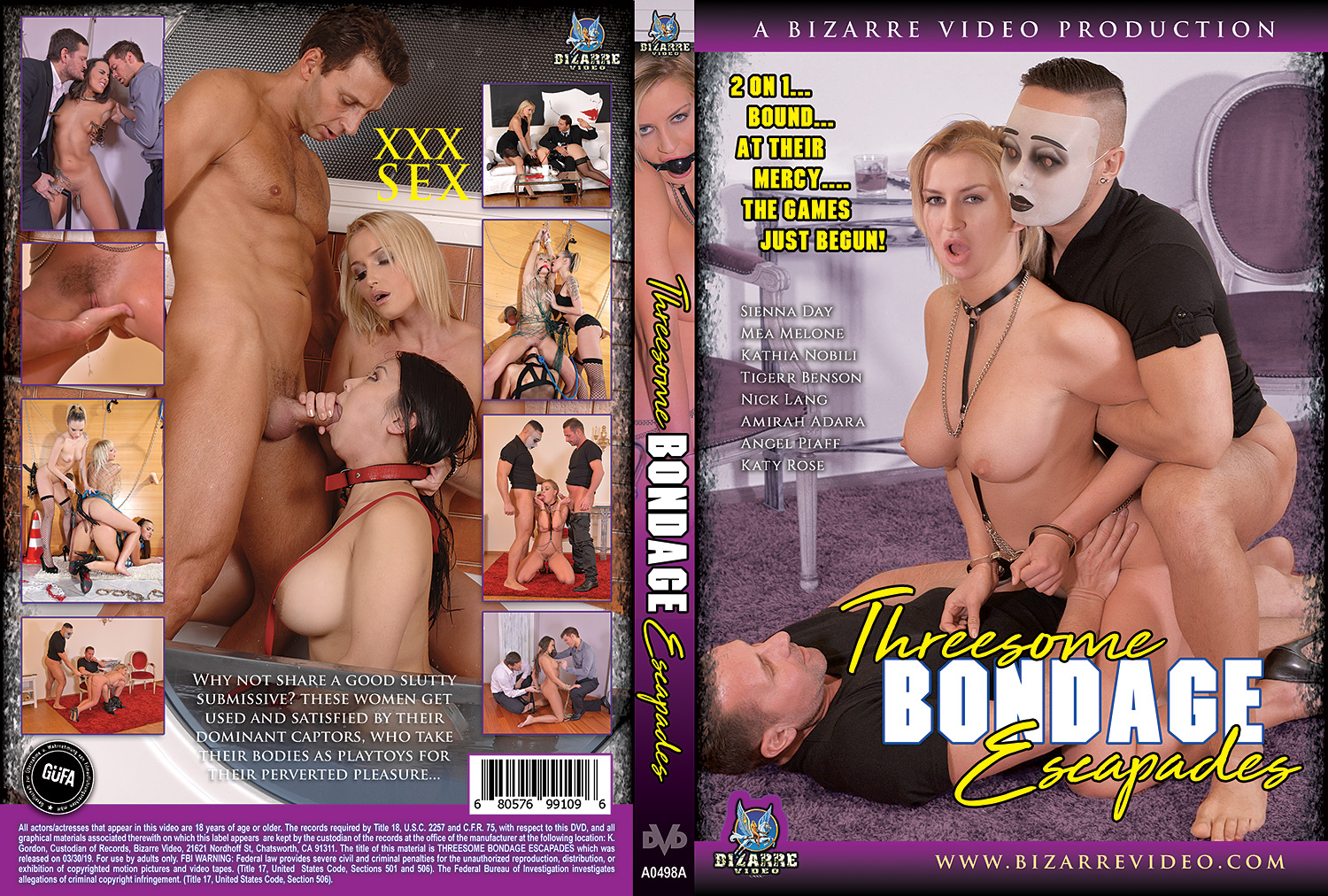Threesome Bondage Escapades